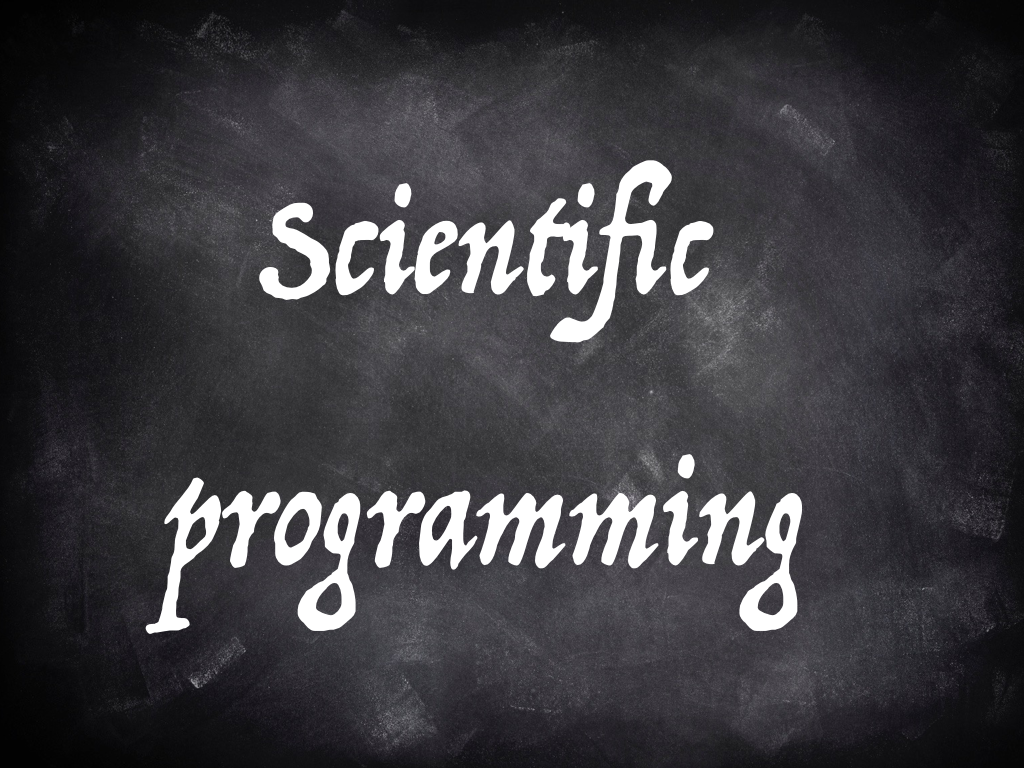 Scientific programming